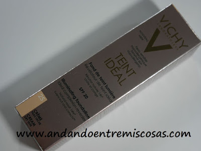 Vichy Teint Idéal Fondo De Maquillaje en crema