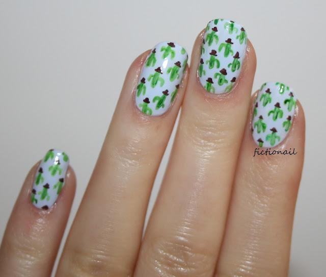 Cactus Nails Cacti Nail Art