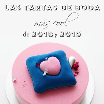 las tartas de boda decoradas de 2018 y 2019 blog mi boda