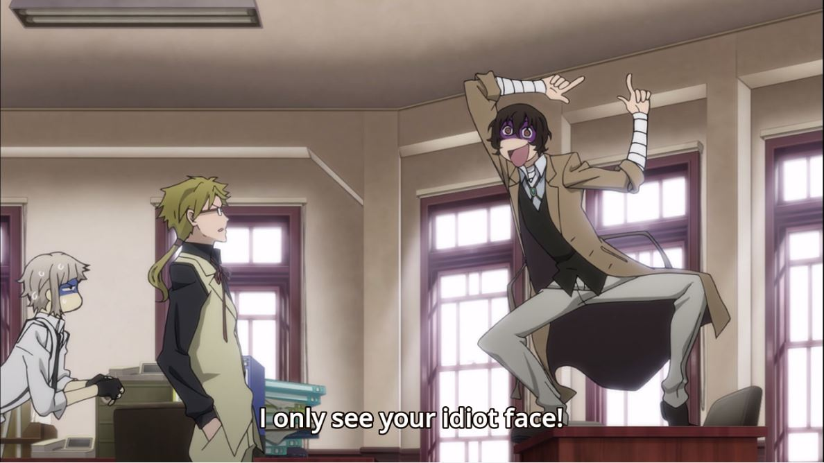A Field of Several Stars.: Bungou Stray Dogs - Episode 6 ...