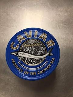 Caviar Beluga de volta ao Brasil