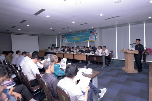 Konsultasi Publik Rancangan Awal RPJMD Tahun 2017-2022 Digelar