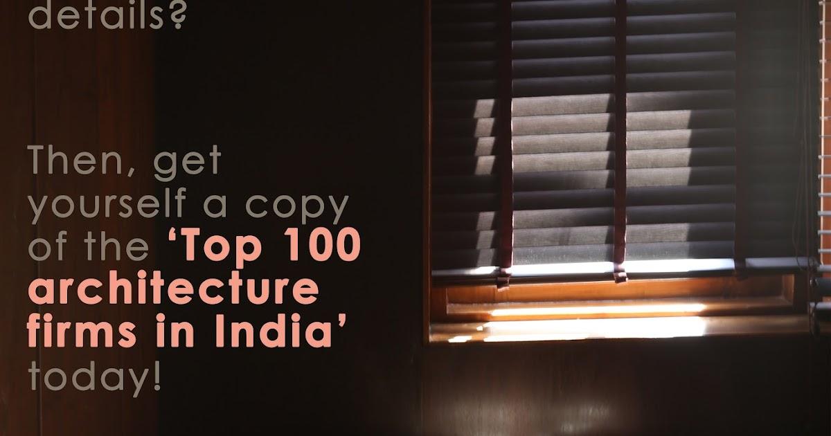Architecture student 39 s corner the best architecture firms for Best architecture firms in india