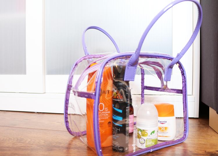 Superdrug Lilac Stripe PVC Bag Set review