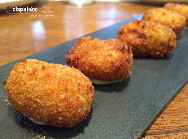 Chistorra Sausage Croquetas from Rambla
