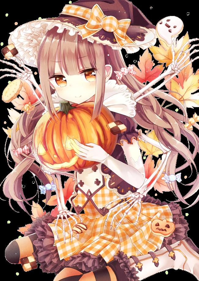 render bruja halloween
