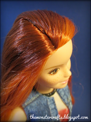 barbie fashionistas petite redhead kitty cute