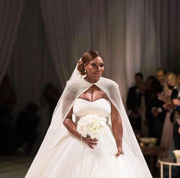 Offical photos from Serena Williams' and Alexis Ohanian's fairytale wedding