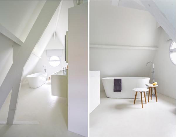 Una mansarda open space  Blog di arredamento e interni  Dettagli Home Decor