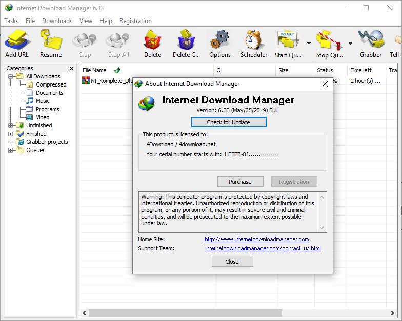 Internet Download Manager v6.33 build 2 Full version