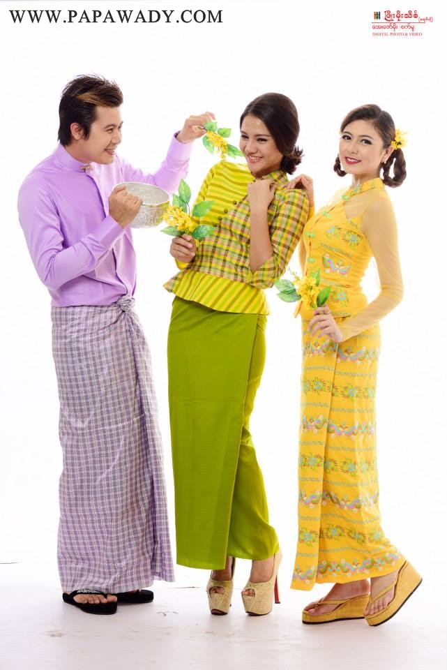 Happy New Year : Myanmar Thingyan Fashion Photoshoot
