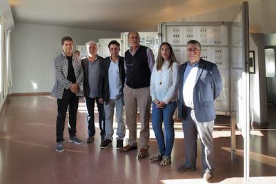 Sotrondio, exposición filatélica Radio San Martín