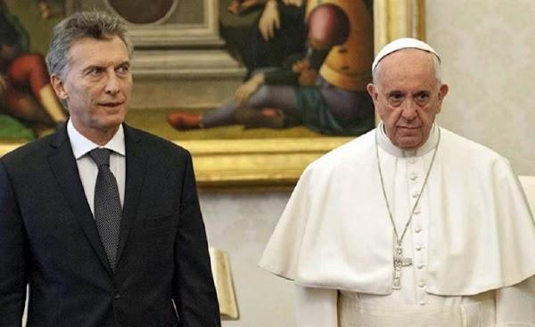 Marcos Peña sobre el papa Francisco: ''No consideramos que haya ninguna cuestión política''