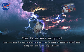 Marozka Ransomware wallpapper обои