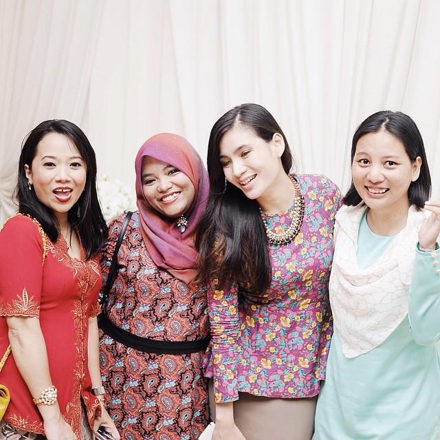 gambar blogger terkenal Malaysia di Majlis Resepsi blogger Cik Epal