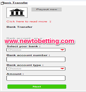 How To Withdraw From Surebet247 Account