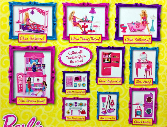Hey, It's Muff: 2013 Barbie Glam Furniture Sets