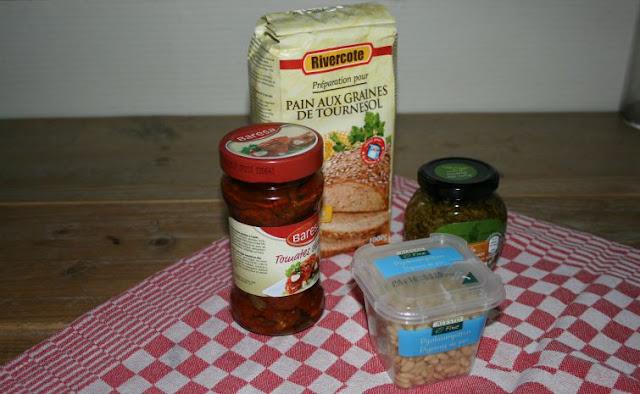 ingrediënten voor de broodbakmachine