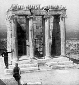 Templo De Atenea Nike La Camara Del Arte