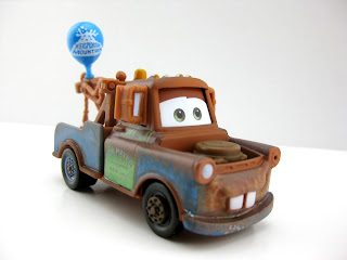 mattel cars 2 mater with balloon