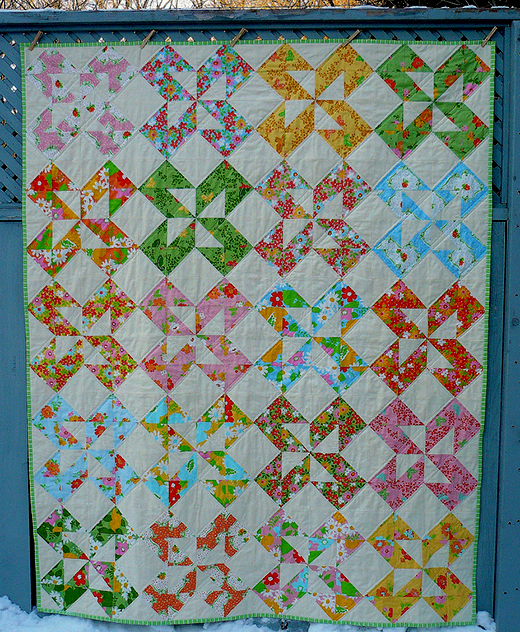 Summer Dreamin' Quilt Free Tutorial designed by Kaye Prince of Miss Print for Moda Bake Shop