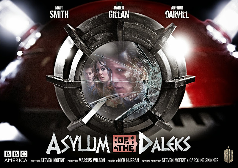 Asylum of the Daleks Doctor Who poster