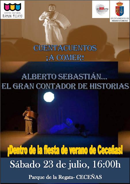 Cuentacuentos ?�A correr!? con Alberto Santamar�a en Cece�as