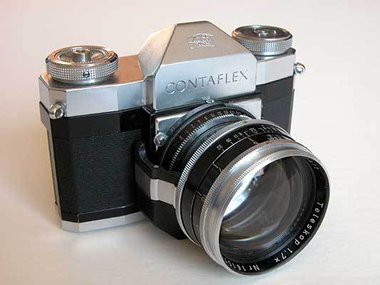 Photography & Vintage Film Cameras: Zeiss Ikon Contaflex I