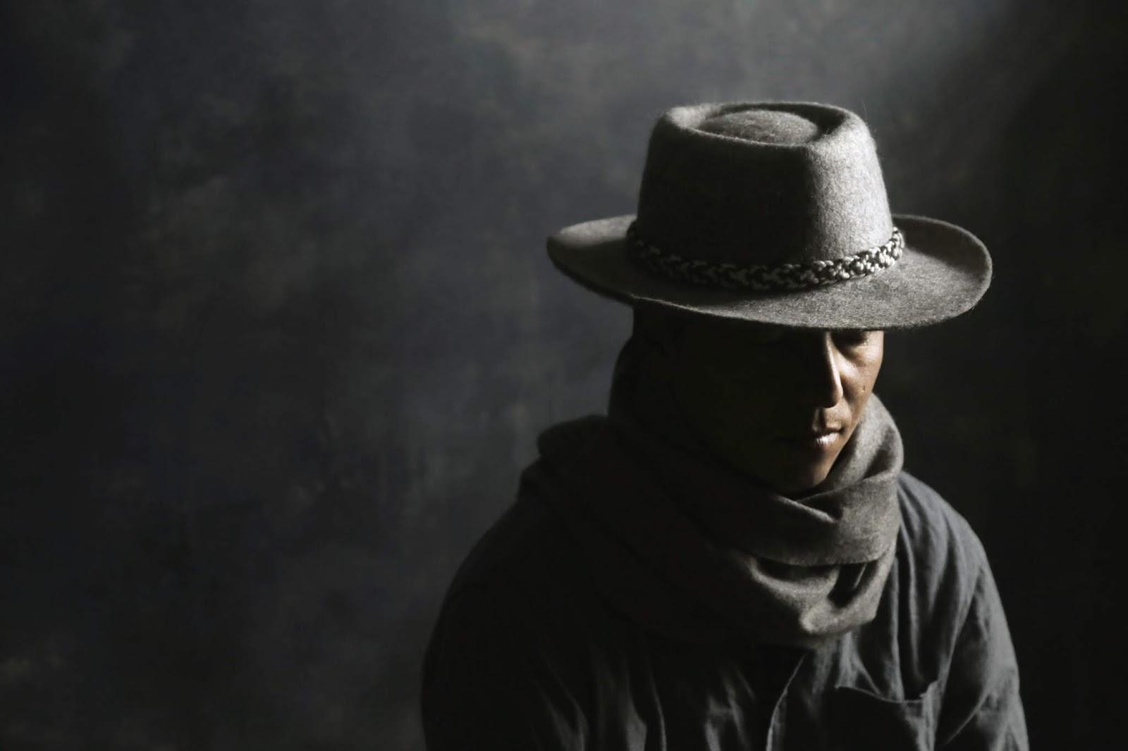 Grey Cowboy Felt Hat | SHANGDROK