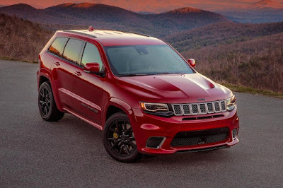 Jeep Grand Cherokee Trackhawk (2018) Front Side