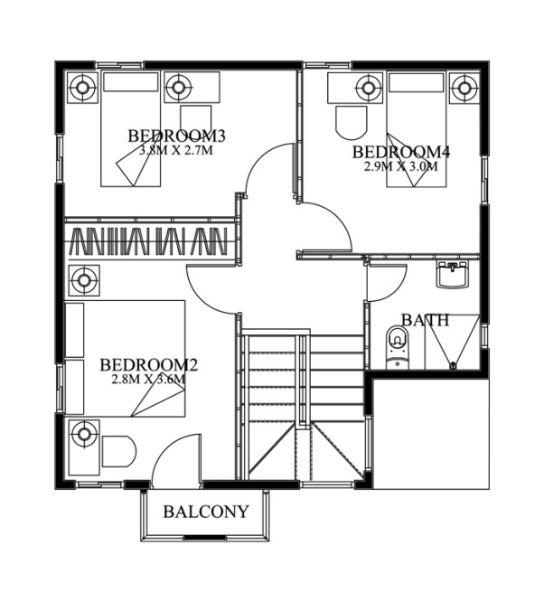 Simple House Design With Second Floor modern house plans with balcony on second floor – best balcony