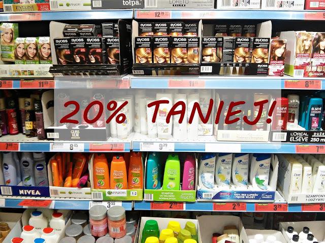 20% Rabatu na kosmetyki do pielęgnacji włosów w Biedronce!
