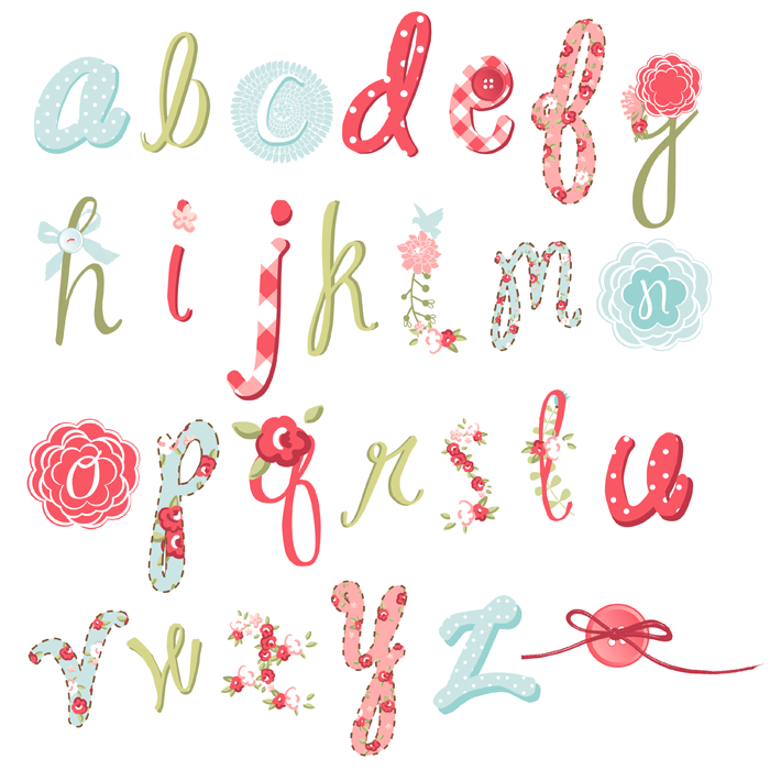 Fifteen Free and Fun Alphabet Graphics | Perfect for Classroom Decor, Teacher Gifts, Nurseries, and more!