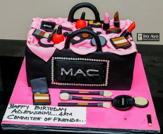 Nollywood Stars Throw Surprise Birthday Party For Makeup Artist