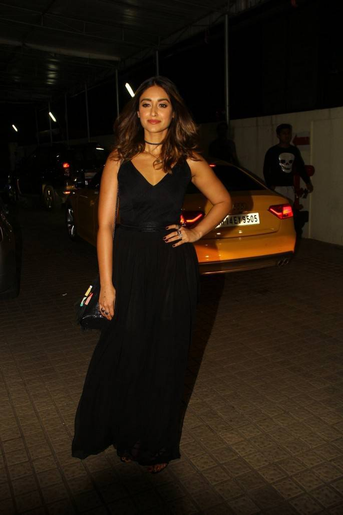 Ileana D'Cruz at The Special Screening of 'Mubarakan' at PVR Juhu
