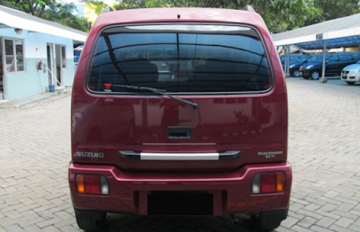Eksterior Belakang Suzuki Karimun Kotak / Classic