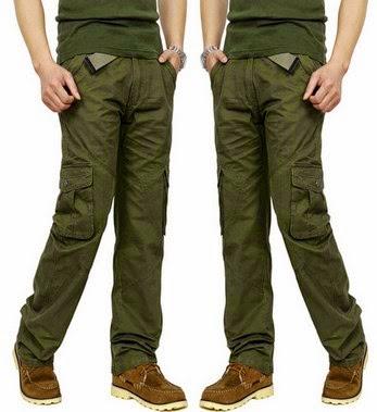 Trend fashion style gaya busana pria 2015 - Celana kargo (cargo pants)