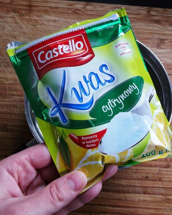 Kwasek cytrynowy z lidla