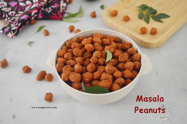 Masala Peanuts | Peanuts Pakora | Kadala Pakoda