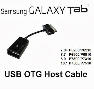 galaxy tab 2 p3100 otg cable