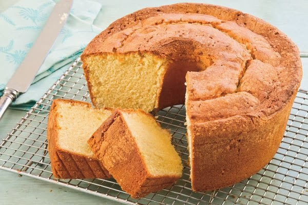 Southern Pound Cake Using Self Rising Floyr And Butter