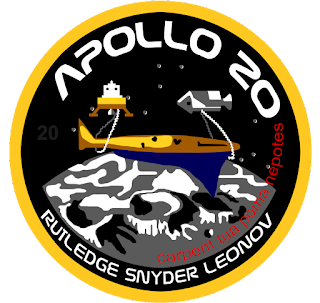 Apollo 20 was a manned mission to the Moon to recover Aliens and technology