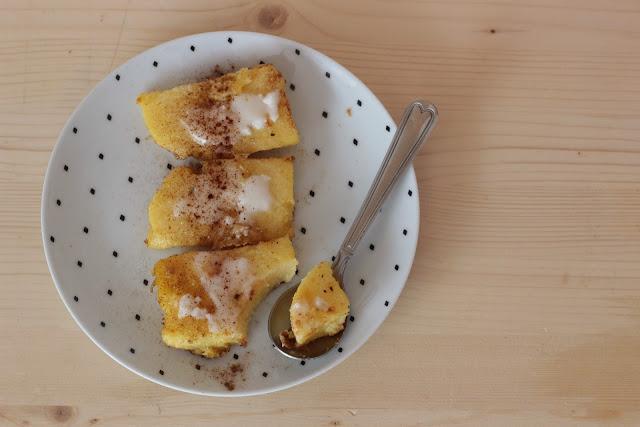 recette polenta sans gluten dessert