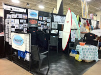 PaddleAir booth before the crowds