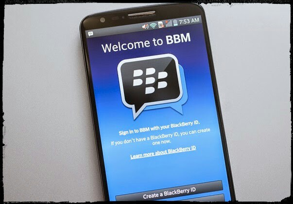 Cara membuat akun BBM di Android