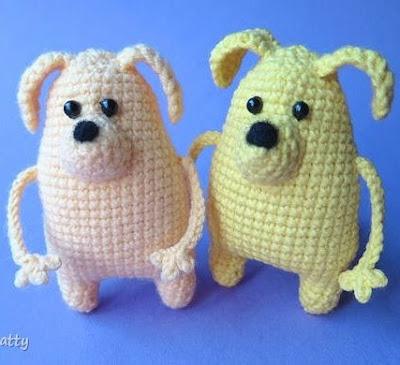 Собачки амигуруми вязаные игрушки