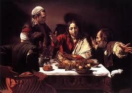 Caravaggio - Cena en Emaús