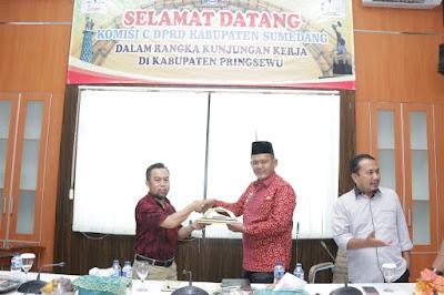Terima Studi Banding Kabupaten Sumedang, Wabup Pringsewu: Strategi Keberhasilan ODF adalah Mengubah Pola Pikir Menjadi Gerakan Nyata