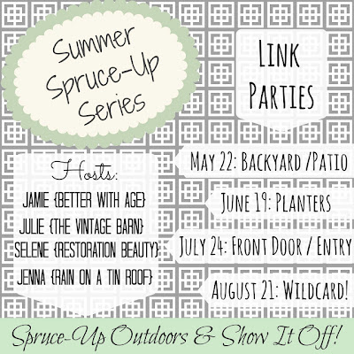 Summer Spruce-Up Series www.somuchbetterwithage.com #link #party #blog #summer