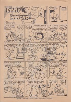 Rinty y Pancho (Rin-Tin-Tin nº 262, 15-7-1966)